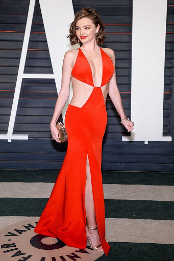 miranda kerr 2016 vanity fair oscar party red carpet best dresses