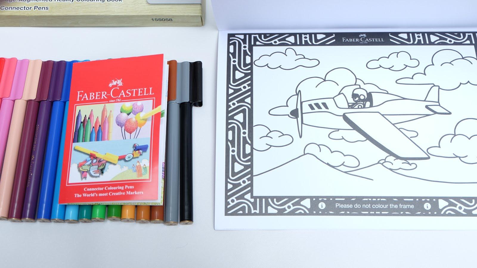 Faber Castell Colour To Life Hadiah Nan Edukatif Yang Membuat Anak Karakter Ini Dapat Kita Warnai Di 3 Halam Terakhir Colouring Book