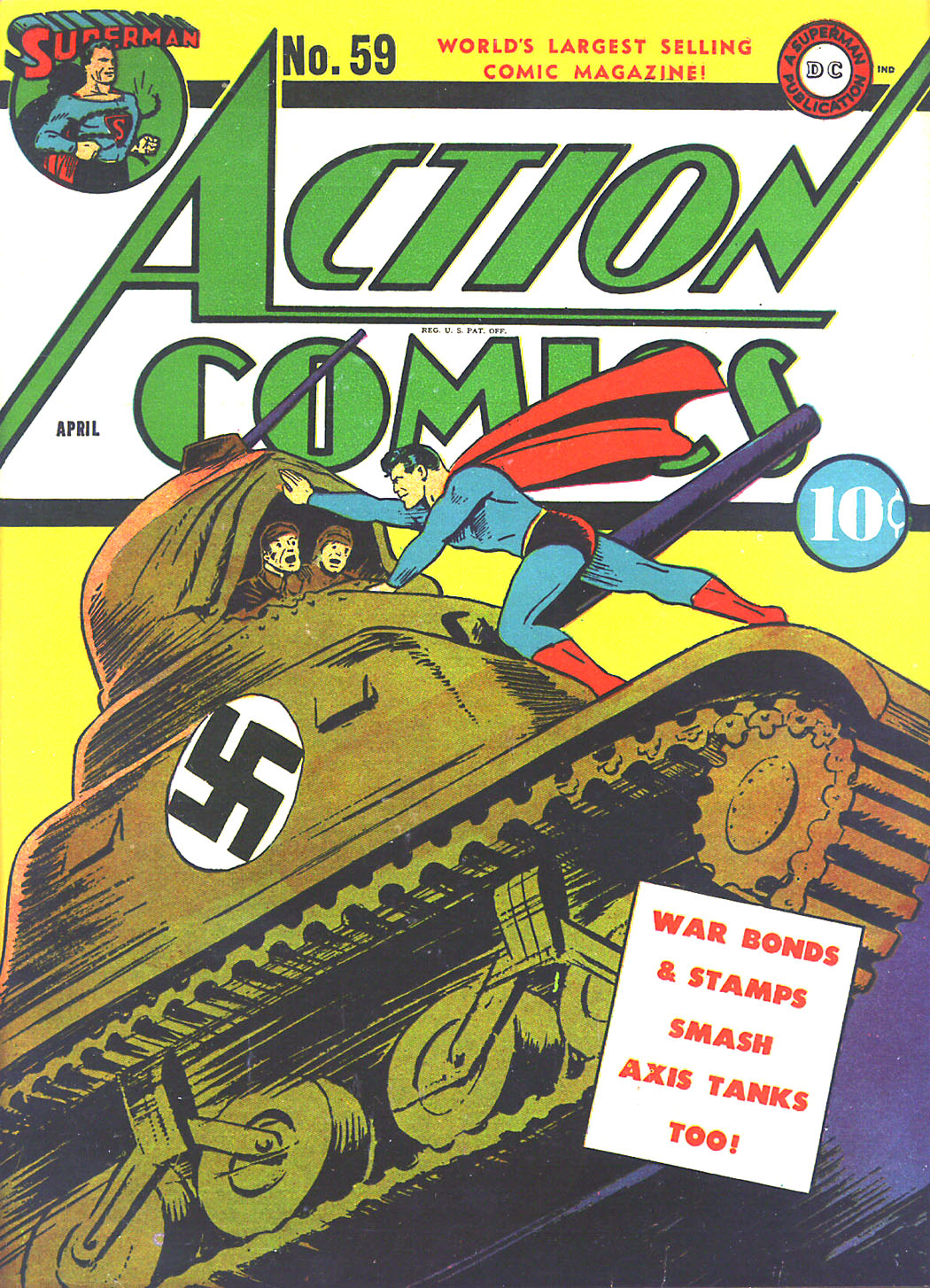 Action Comics (1938) 59 Page 1