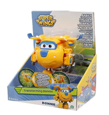 TOYS : JUGUETES - SUPER WINGS  Donnie : Figura - Muñeco | Tranformación en Avión  Giochi Preziosi 2016 | SERIE TELEVISION INFANTIL  A partir de 3 años | Comprar en Amazon España