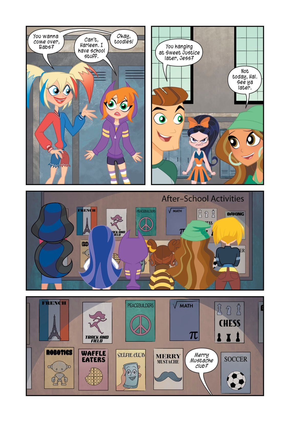 Read online DC Super Hero Girls: At Metropolis High (Halloween ComicFest Special Edition) comic -  Issue # Full - 9