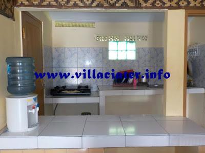 dapur di villa ciater pemandian air panas