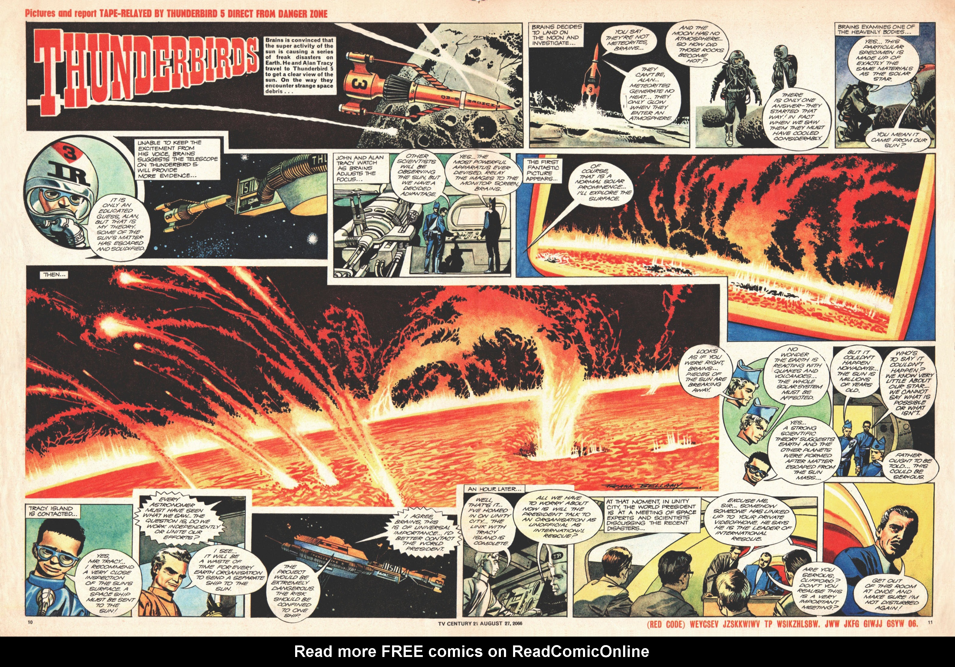 Read online TV Century 21 (TV 21) comic -  Issue #84 - 10