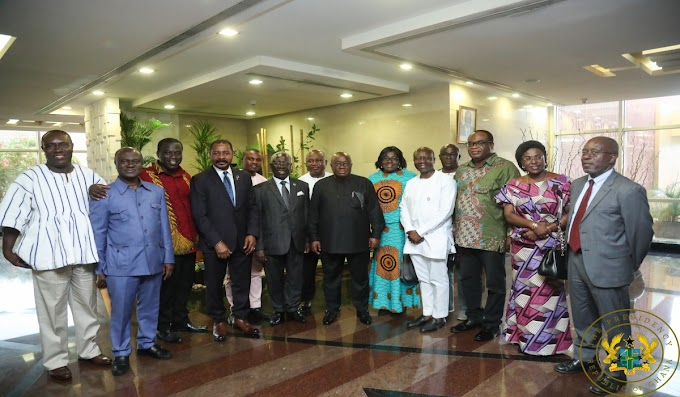 "President Inaugurates ""Ghana Beyond Aid"" Charter Committee"