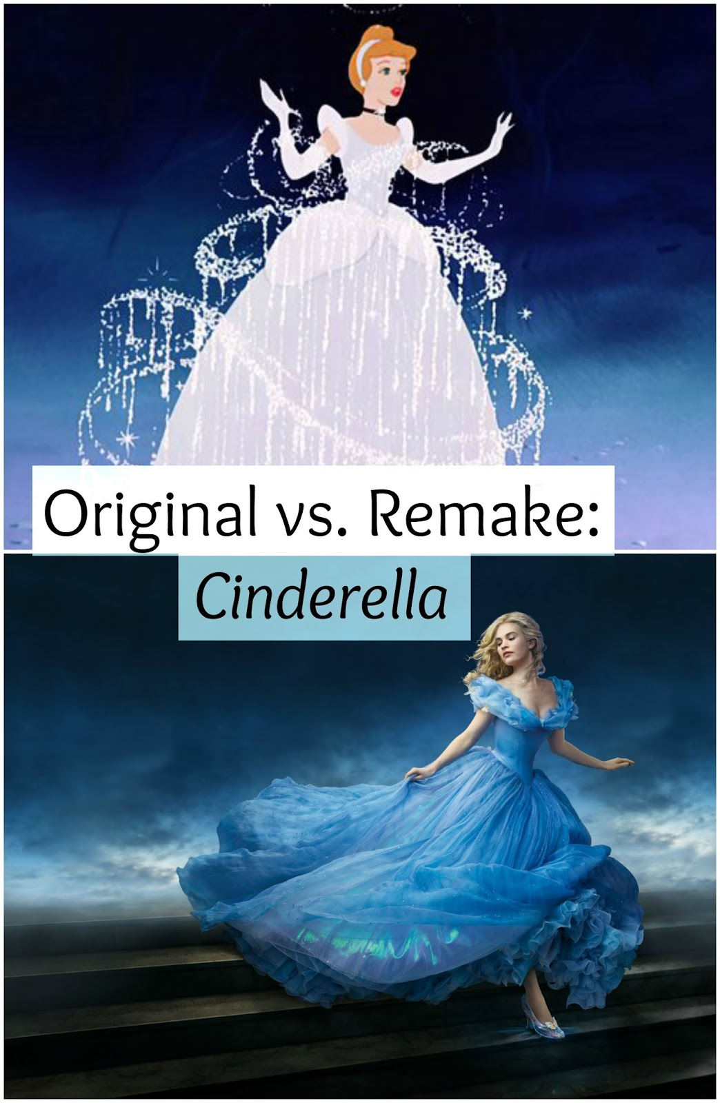 original cinderella vs the modern cinderella Watch video  cinderella, the beautiful and kind-hearted daughter, sees her world turn upside down when her beloved mother dies, and her pained father remarries another woman, the wicked lady tremaine, who has two equally cruel daughters, the jealous anastasia and drizella.