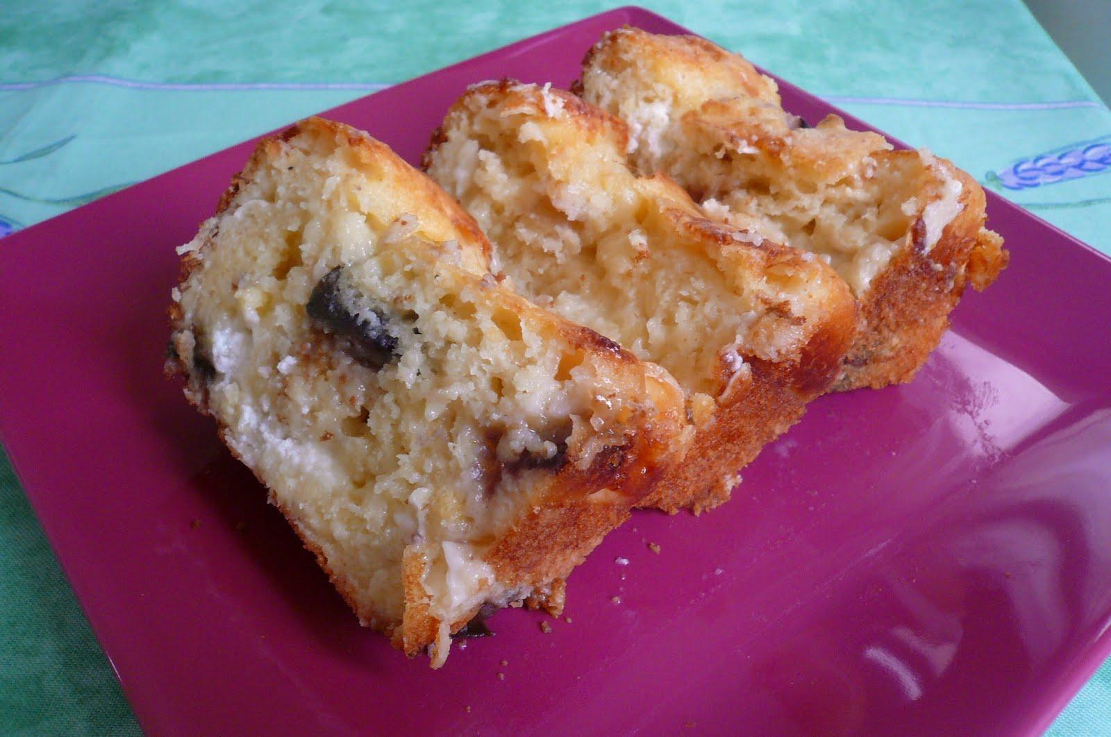 Cake Au Figue Fraiches Et Chevre