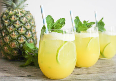 Pineapple and Lemon Juice