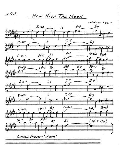 Partitura Saxofón Morgan Lewis