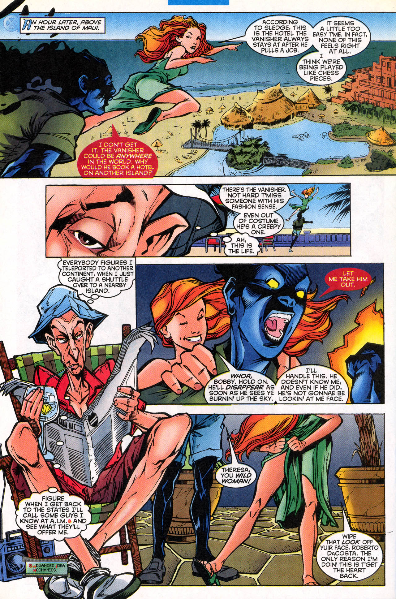 Read online X-Force (1991) comic -  Issue #81 - 24