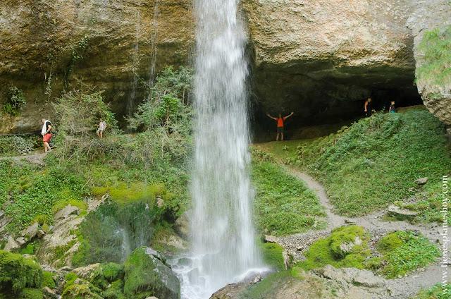 Ruta Cascada Kakuetta senderismo Pirineo Francia vasco frances