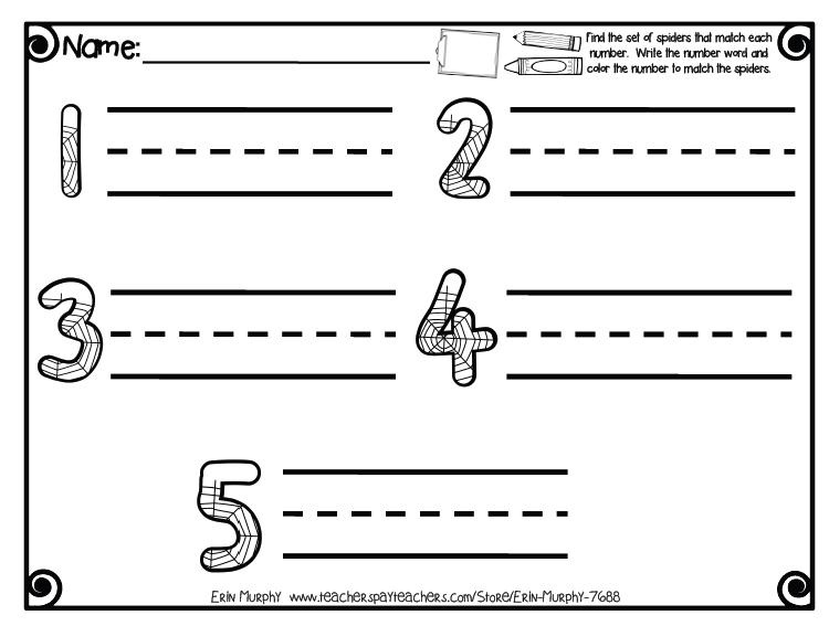 Number Names Worksheets number 1-5 worksheet : Number Names Worksheets : number words worksheets for kindergarten ...