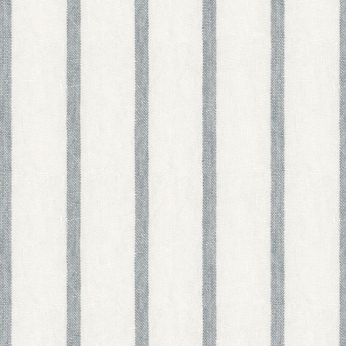 image result for Bemz linen blue and white stipe Brera lino cloud