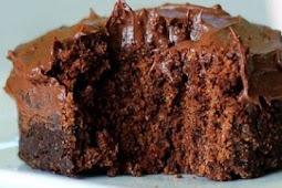 1 Minute Fudgy Chocolate Mug Cake
