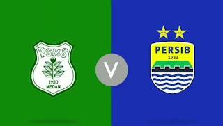 Susunan Pemain PSMS Medan vs Persib Bandung