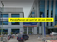 Frontliner Bank BRI Terakhir Jum'at 18 Januari 2018