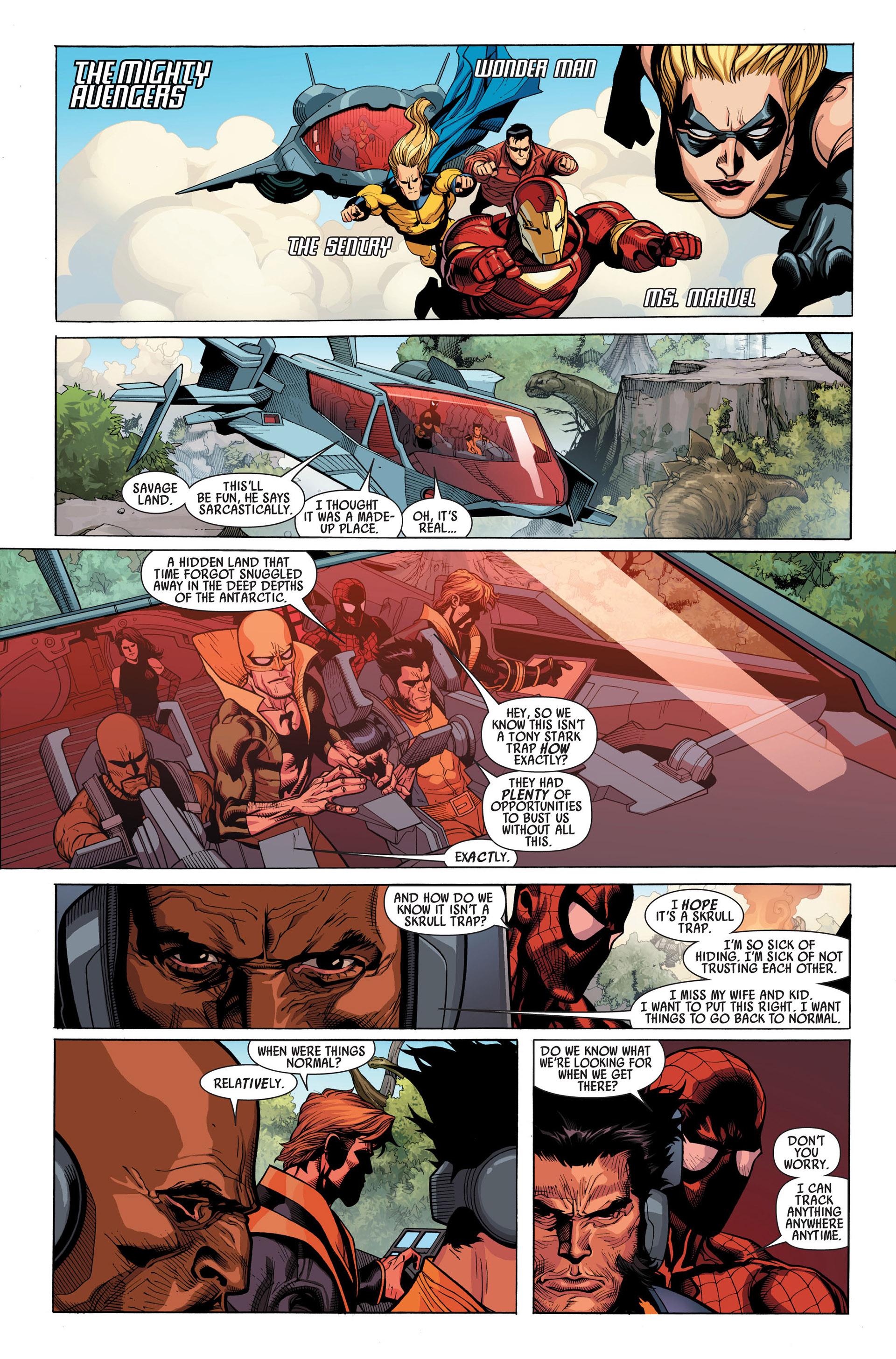 Read online Secret Invasion comic -  Issue #1 - 13