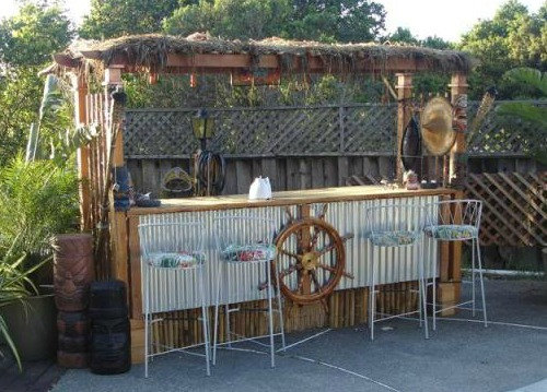 Gallery for gt outdoor tiki bar designs