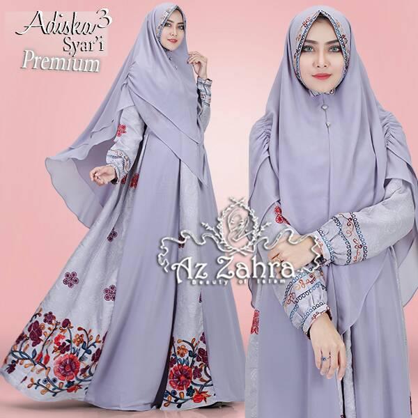 Jual Busana Muslim Adiska Syari Vol 3 By Az Zahra