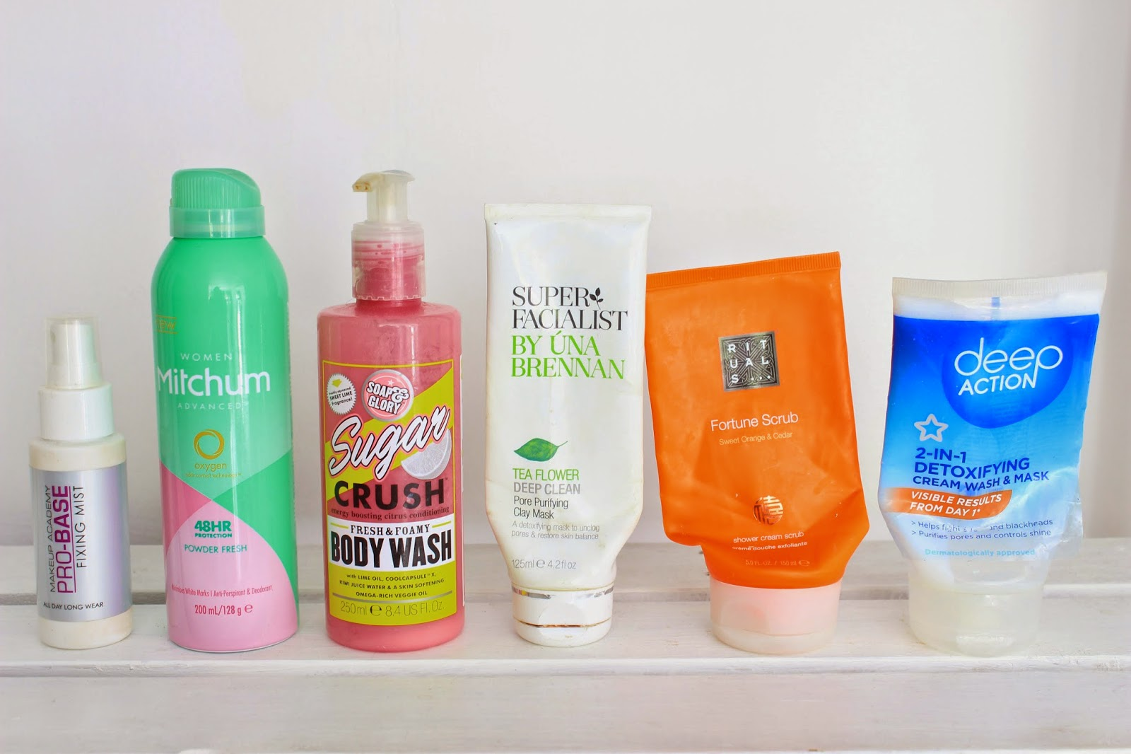 Beauty Product Empties #1