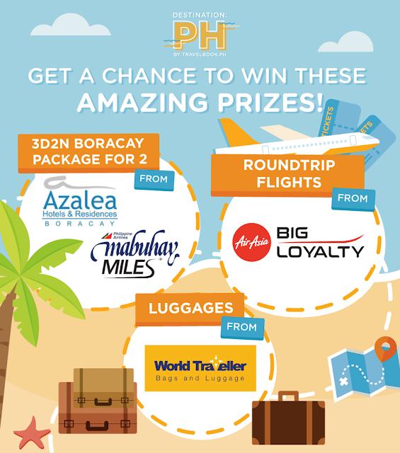 4 Major Prizes - TRAVELBOOK.PH TRAVEL FAIR