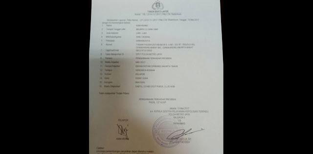 Resmi, Ahoker Penghina Jokowi Dilaporkan ke Polisi