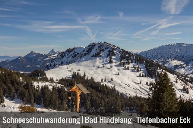 Schneeschuhtour tiefenbacher eck bad hindelang allgäu Allgäuer alpen