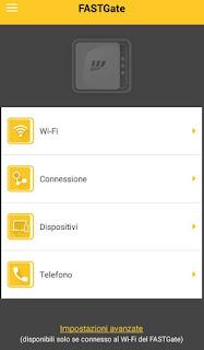 menu app FASTGate