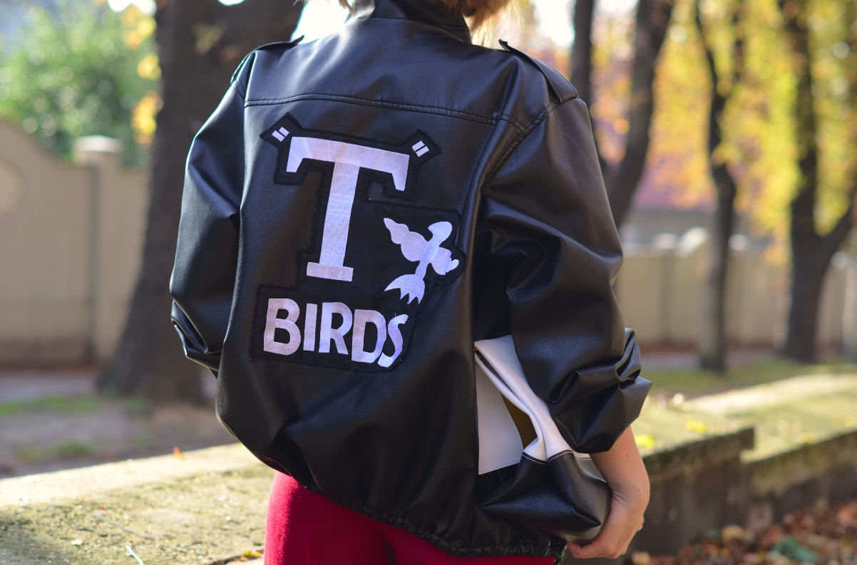 t birds jacket grease