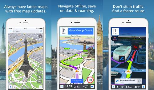 أفضل تطبيق خرائط GPS Navigation للأندرويد والآيفون بدون أنترنت
