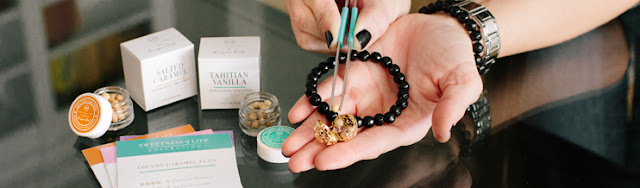 Lisa Hoffman Fragrance Beads Collection for Origami Owl available at StoriedCharms.com
