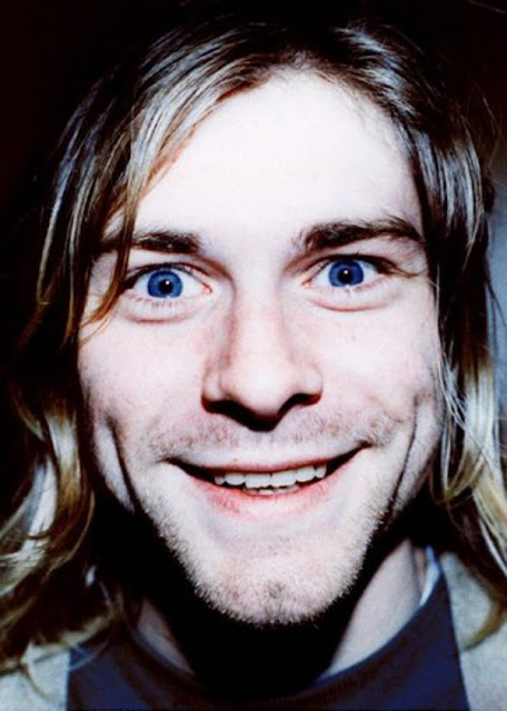 Pictures Of Kurt Cobain Looking Happy Vintage Everyday
