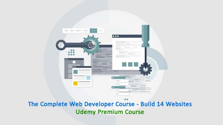 The Complete Web Developer Course - Build 14 Websites -  Udemy Coupon Premium Course