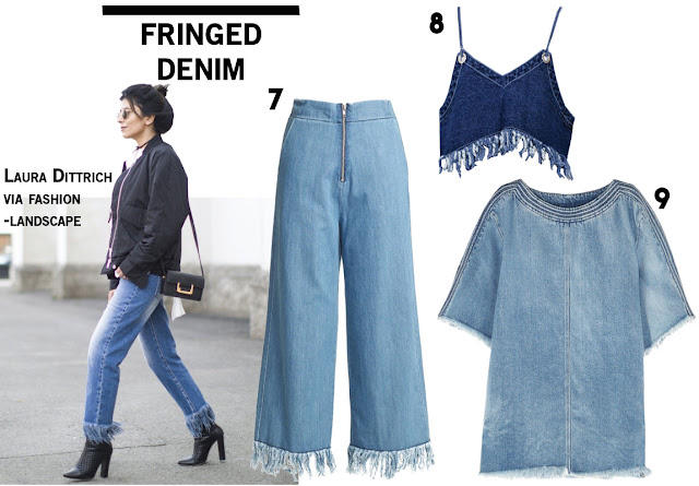Fringe Denim Jeans Blogger Laura Dittrich Trend Fall 2016