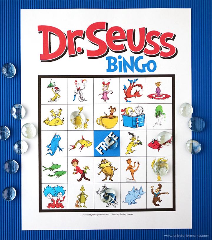 Free Printable Dr Seuss Bingo Artsy Fartsy Mama