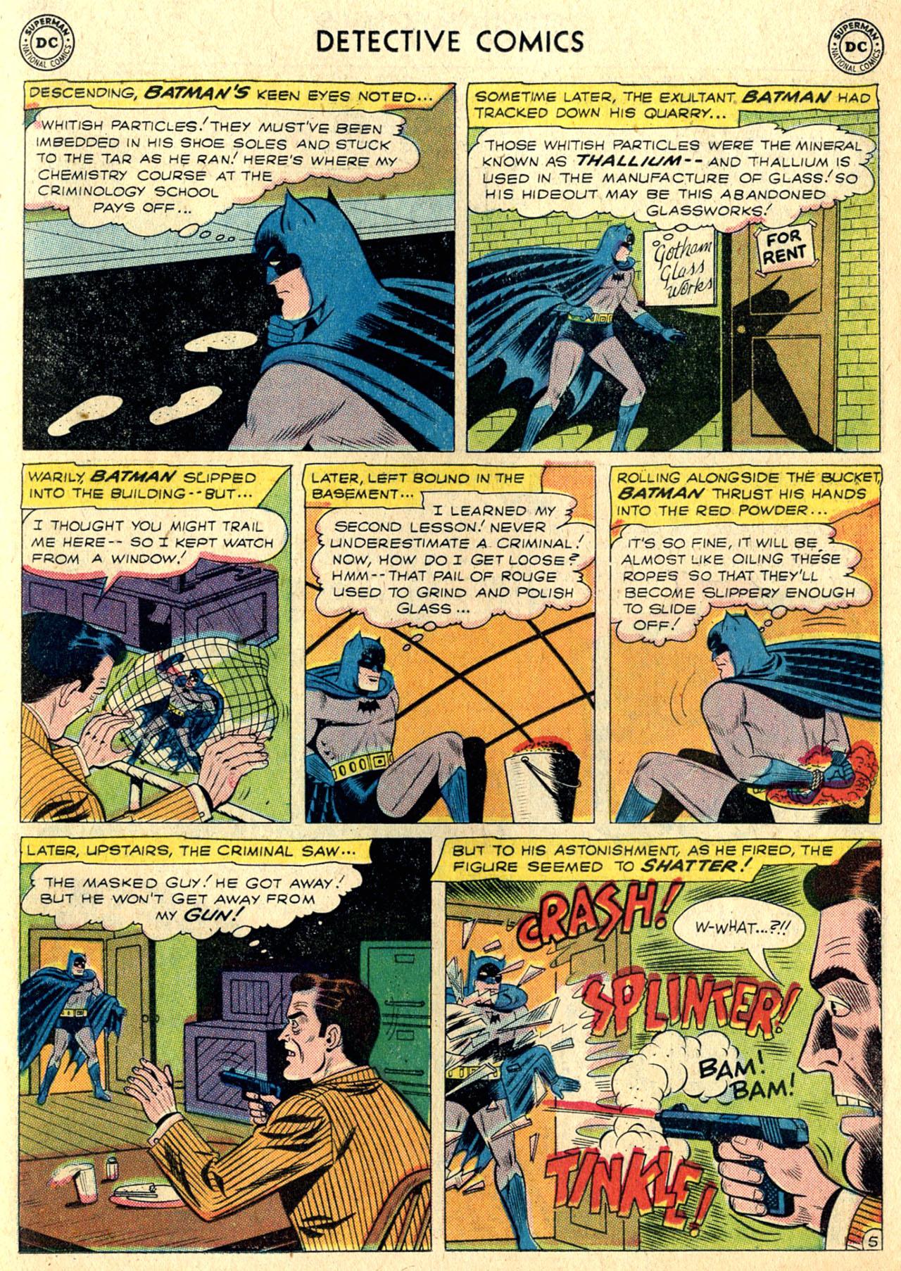 Read online Detective Comics (1937) comic -  Issue #265 - 7