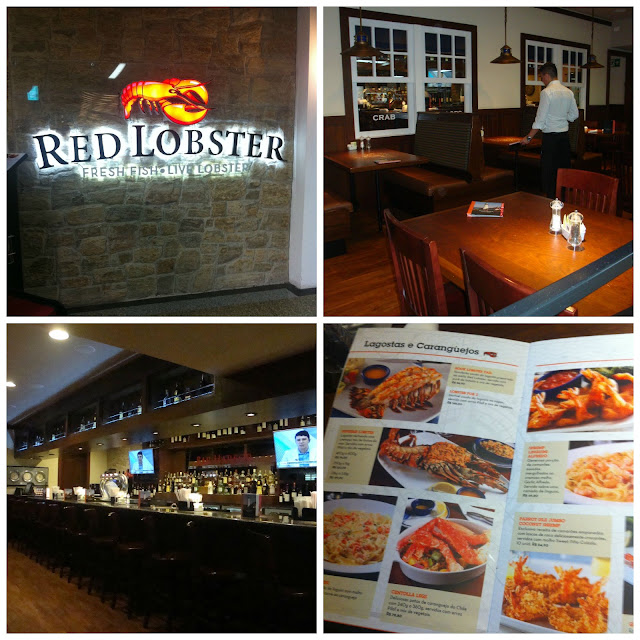 restaurante Red Lobster no aeroporto de Guarulhos