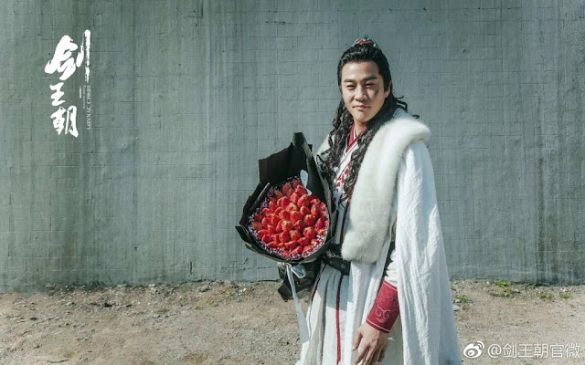 Wuxia Sword Dynasty completes shooting Peter Ho