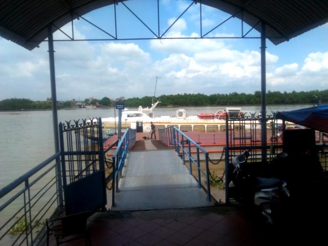 El transporte desde Haiphong a Cat Ba