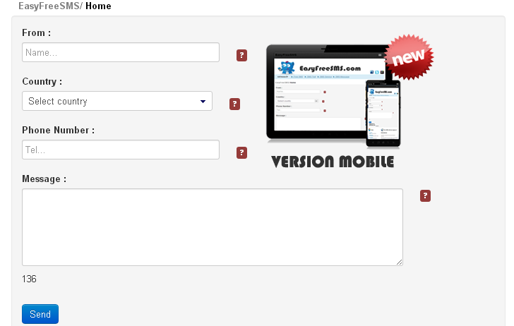Top 4 Websites to Send Free Unlimited SMS - Tips Tricks and