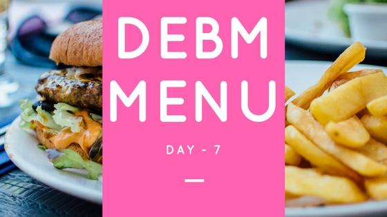 Menu DEBM Diet Enak Bahagia Menyenangkan Hari Ke-7