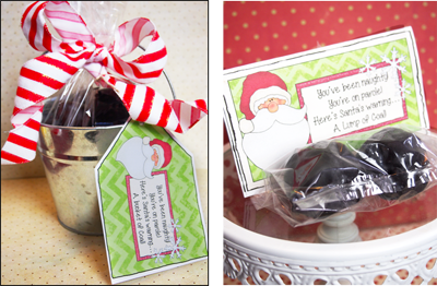 Parties And Patterns Homemade Santa Christmas Gift Ideas