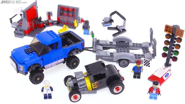 lego speed champions ford f 150 raptor model a hot rod. Black Bedroom Furniture Sets. Home Design Ideas
