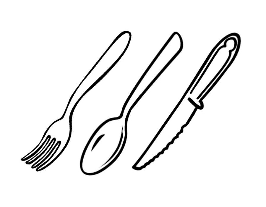 Gambar Mewarnai Peralatan Dapur