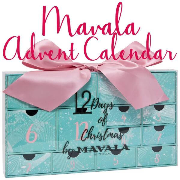 12 days of christmas advent calendar