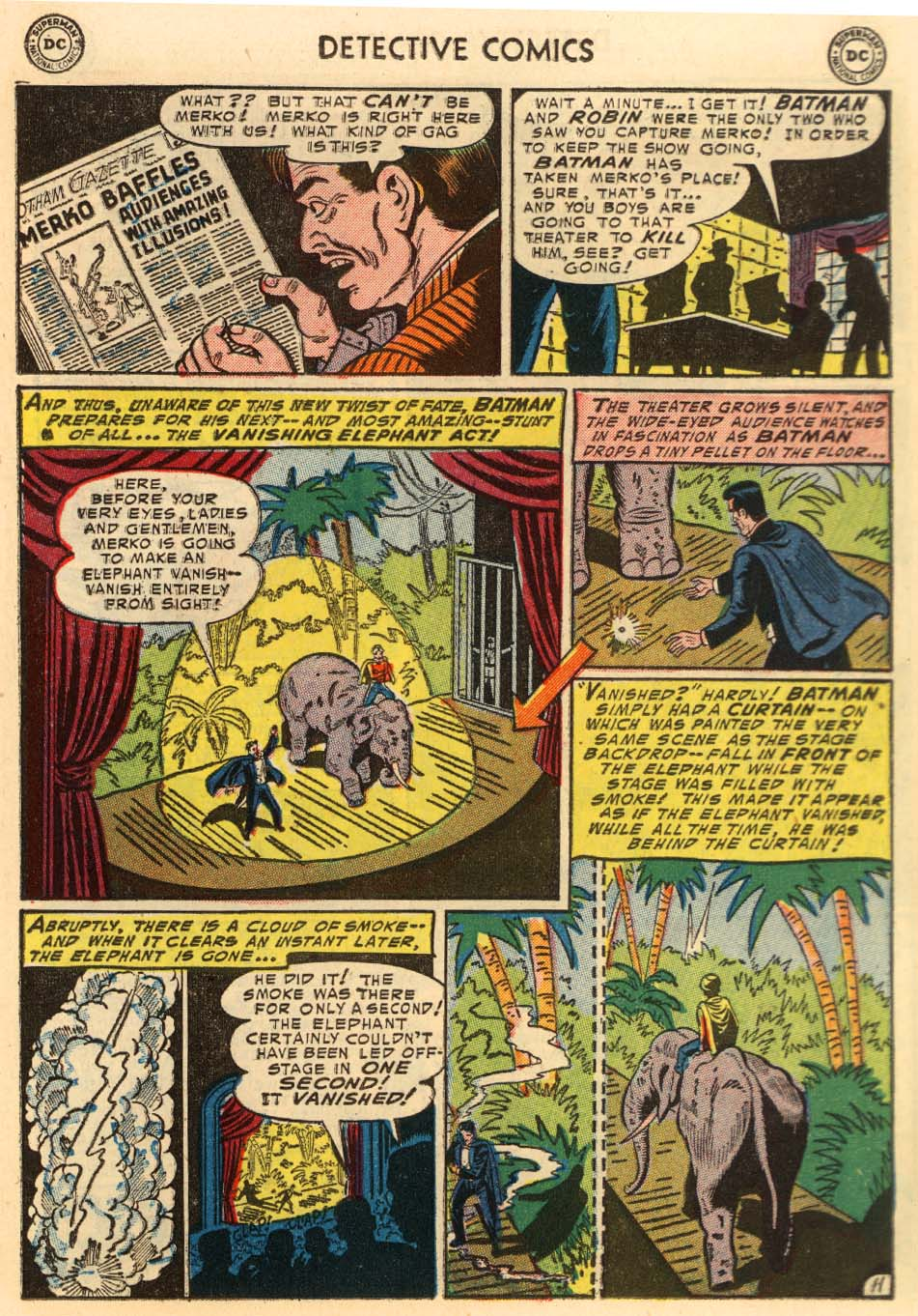 Detective Comics (1937) 207 Page 11