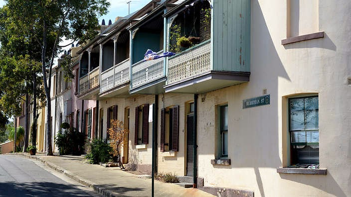 The Brown Couch Millers Point And The Rocks Heritage