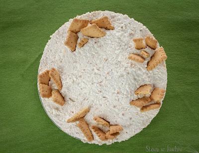 Sernik kokosowo-orzechowy