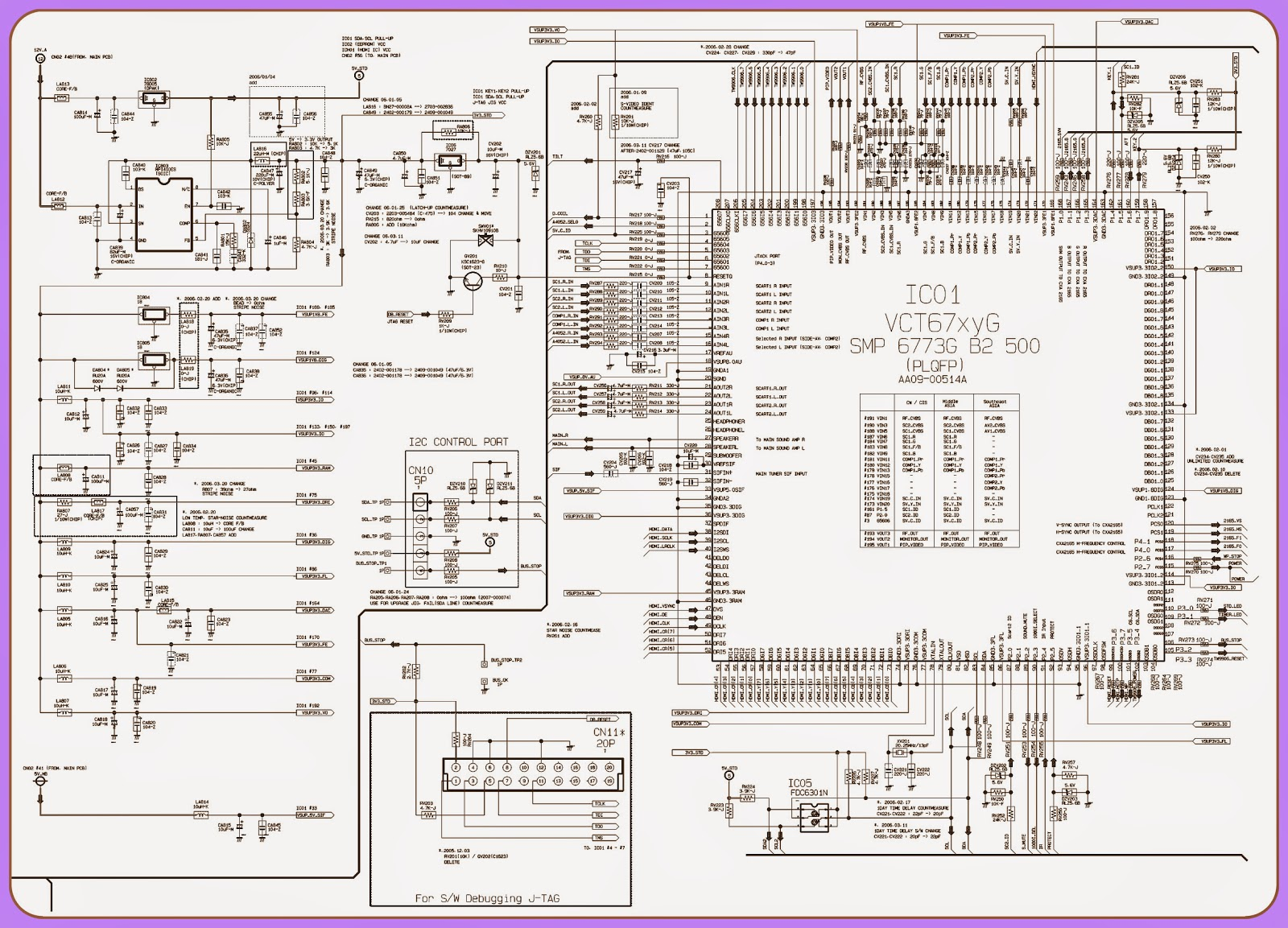 Samsung Tv Fan Diagram Wiring Will Be A Thing Daihatsu Terios Free Crt Ws 32z30hpq Smps Power And Deflection Led Schematic Repair Manual
