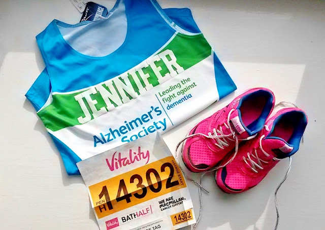 Running kit shoes vest and number