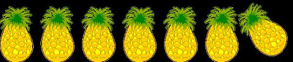 Image result for pineapple border clipart